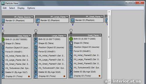 3ds Max Particle Flow