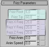 Вкладка Frizz