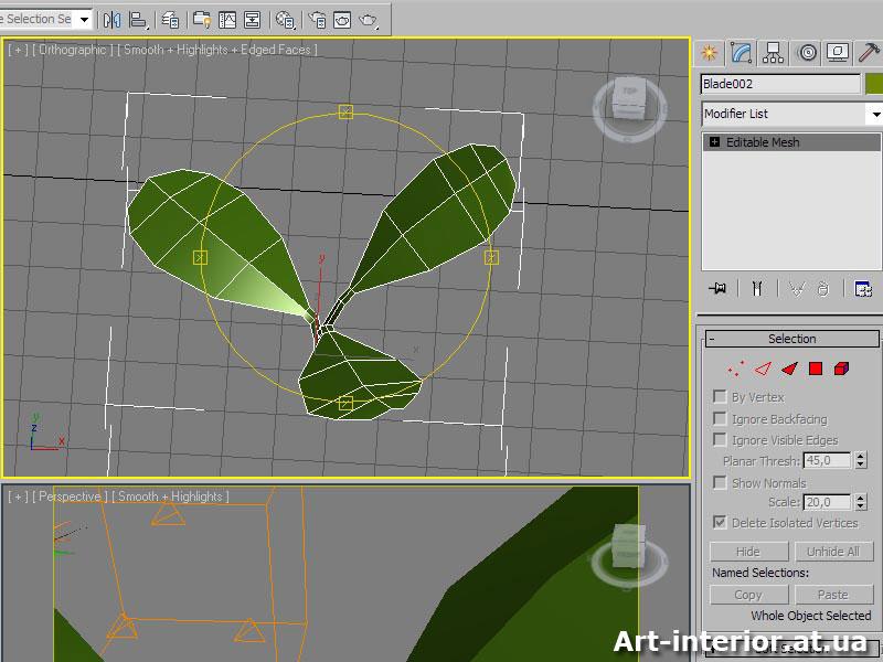 Создание травы в 3ds max